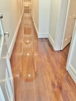 Hallway flooring project by Elegant Timber Floors Sydney